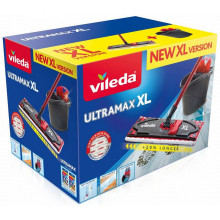 VILEDA Ultramax BOX XL SET: flat mop + bucket with a squeezer
