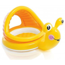 INTEX Medence Lazy Snail Shade Baby Pool 57124NP