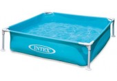 Intex Mini Frame Pool kék medence 122 x 122 x,30 cm, 57173