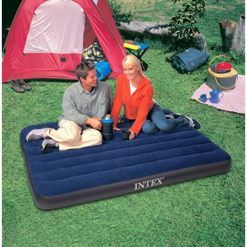 intex classic downy full felf jhat gy 137 x 191 cm 68758. Black Bedroom Furniture Sets. Home Design Ideas