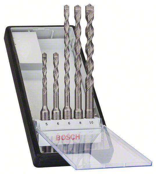 BOSCH Robust Line SDS-plus-7 kalapácsfúró-készlet 2608585073